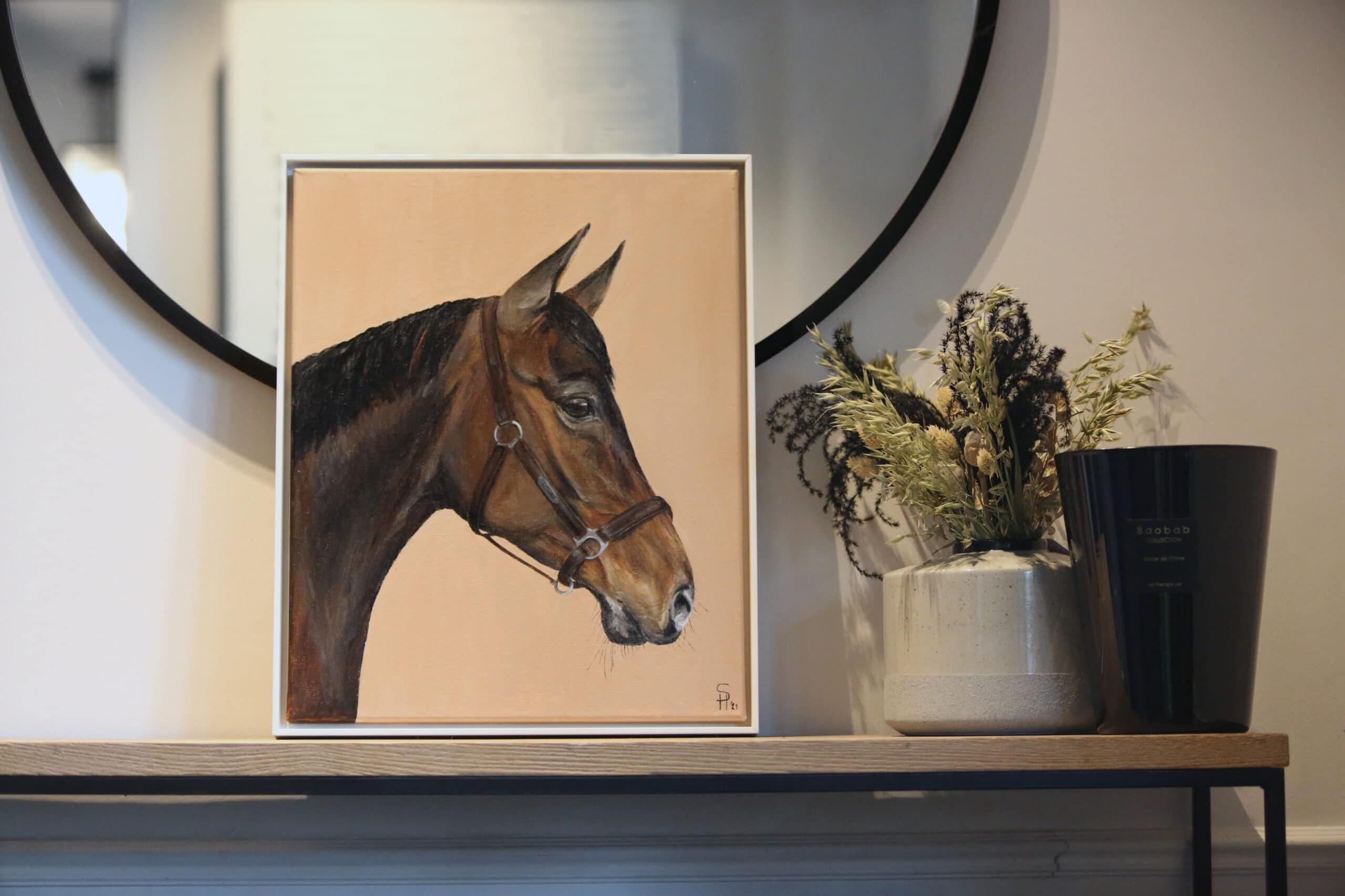 Commission Portrait 40x50cm