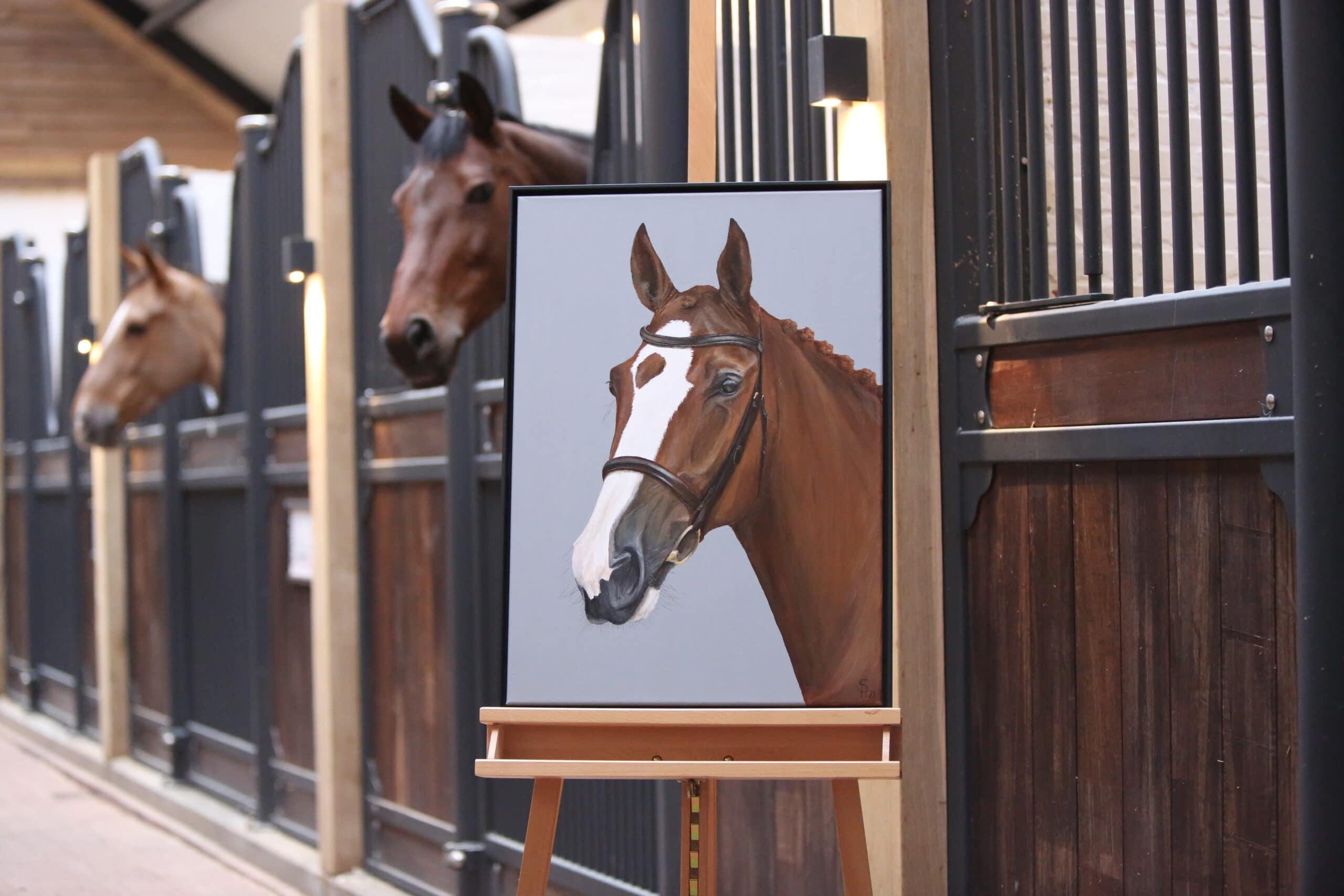 Commission portrait 50x70cm